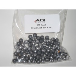 50 caliber Blackpowder balls